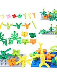 abordables -BEIQI Blocs de Construction 144pcs Thème jardin Ecole / simple / Interaction parent-enfant Unisexe Cadeau