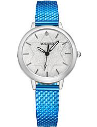baratos -Mulheres Relógio de Moda Chinês Relógio Casual Outro Banda Fashion / Colorido Preta / Azul / Prata