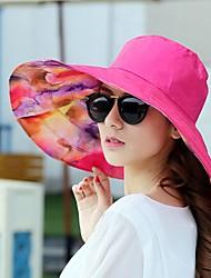 baratos -Mulheres Chapéu de sol - Básico Geométrica / Tecido / Verão