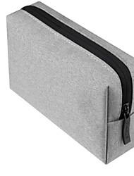 baratos -Bolsa para Côr Sólida Poliéster Adaptador de Tomada Flash  Drive Baterias Externas Hard Drive Fones de Ouvido
