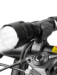 cheap -LED Flashlights / Torch Front Bike Light LED Cycling Adjustable Focus 18650 Lumens Battery Camping/Hiking/Caving Everyday Use