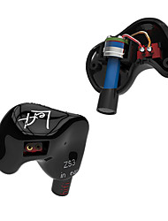 cheap -KZ ZS3 Bluetooth Headsets Earphones (Earbuds, In-Ear) Bluetooth3.0 Headphones Dynamic Copper Sport & Fitness Earphone Mini Headset