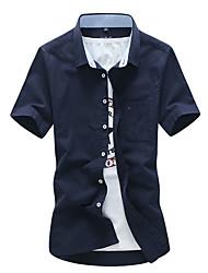 muški poslovni ovratnik košulje od majice košulje
