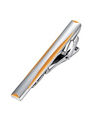 cheap -Silver / Yellow Tie Clips Gold Plated Mini Classic / European Men's Costume Jewelry For Party / Daily