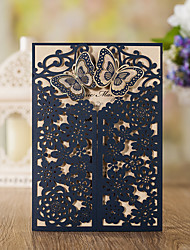 cheap -Wrap & Pocket Wedding Invitations 10 - Invitation Cards Classic Style Embossed Paper Embossed