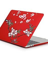 economico -MacBook Custodia per Fiore decorativo Plastica Per Nuovo MacBook Pro 15'' Per Nuovo MacBook Pro 13'' MacBook Pro 15 pollici MacBook Air