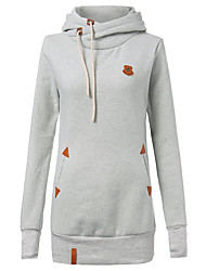 cheap -Women's Active Hoodie - Floral, Print