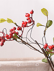 cheap -Artificial Flowers 1 Branch Pastoral Style Fruit Tabletop Flower