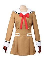 cheap -Inspired by BanG Dream Other Anime Cosplay Costumes Cosplay Suits Other Long Sleeves Cravat Dress For Men's Women's