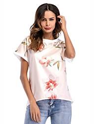 preiswerte -Damen Buchstabe T-shirt Spitze Druck