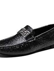 Недорогие -Муж. обувь Флис Зима Осень Удобная обувь Спортивная обувь Для пешеходного туризма для Повседневные Белый Черный Коричневый Зеленый