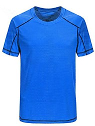 cheap -Men's Hiking T-shirt Outdoor Quick Dry Breathability Lightweight T-shirt Camping / Hiking Multisport Bike/Cycling Back Country