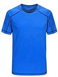 preiswerte -Herrn T-Shirt für Wanderer Außen Rasche Trocknung Atmungsaktivität Leicht T-shirt Camping & Wandern Mehrere Sportarten Fahhrad