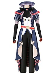 cheap -Inspired by IDOLiSH7 Other Anime Cosplay Costumes Cosplay Suits Other Short Sleeves Cravat Coat Shirt Pants Shawl Gloves Belt More