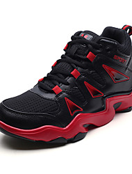 baratos -Homens sapatos Tule Primavera / Outono Conforto Tênis Basquete Laranja / Branco / Preto / Preto / Vermelho
