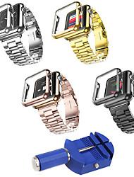 Недорогие -Ремешок для часов для Apple Watch Series 3 / 2 / 1 Apple Классическая застежка Нержавеющая сталь Plastic Повязка на запястье