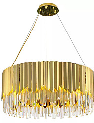 cheap -QIHengZhaoMing 6-Light Pendant Light Ambient Light - Crystal, Bulb Included, Extended, 110-120V / 220-240V Bulb Included / 15-20㎡ / E12 / E14