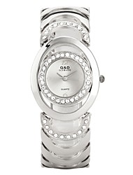 Недорогие -Жен. Для пары Модные часы Спортивные часы Повседневные часы Китайский Кварцевый Повседневные часы сплав Группа Роскошь На каждый день