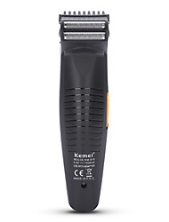 cheap -Kemei Electric Shavers for Men 110-240V Power light indicator Light and Convenient Handheld Design