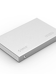 cheap -ORICO Hard Drive Enclosure Lidded Slim design 2.5D Arc Screen Aluminium Alloy USB 3.0