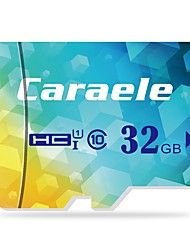 abordables -Caraele 32Go TF carte Micro SD Card carte mémoire Class10 CA-1 16GB
