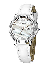 cheap -CADISEN Women's Fashion Watch Casual Watch Japanese Quartz Calendar / date / day Water Resistant / Water Proof Casual Watch Genuine