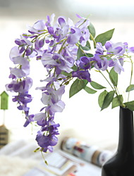 cheap -Artificial Flowers 1 Branch Simple Style / Pastoral Style Lilac Basket Flower