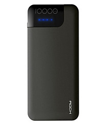 cheap -10000mAh Power Bank External Battery 12 Battery Charger with Cable QC 2.0 LED