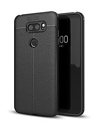 abordables -Funda Para LG V30 / P6 Antigolpes Funda Trasera Un Color Suave TPU para LG V30 / LG V30+ / LG Q6