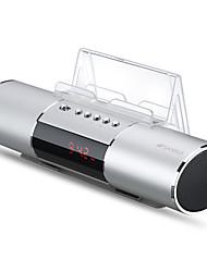 Недорогие -Динамик E19 Многофункциональный цифровой будильник Радио Мобильные телефоны Динамики Плагин Аудио USB зарядка Поддержка записи одним щелчком мыши Bluetooth
