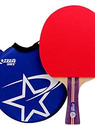 baratos -DHS® R1002 R1003 FL Ping Pang/Tabela raquetes de tênis Borracha 1 Estrela Cabo Comprido Espinhas