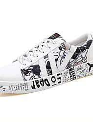 economico -Per uomo Suole leggere PU (Poliuretano) Primavera / Estate scarpe da ginnastica Basket Fucsia / Bianco / nero / Nero / Rosso