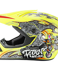 cheap -Off-Road Motorcycle Racing Helmet Capital P Pattern Full Face Speed Racing Durable Motorsport Helmet