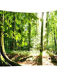 cheap -Landscape Still Life Wall Decor 100% Polyester Classic Modern Wall Art, Wall Tapestries of