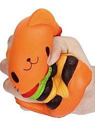 Недорогие -LT.Squishies Резиновые игрушки Кошка Гамбургер Стресс и тревога помощи Товары для офиса болотистый 1 pcs Классика Взрослые Мальчики Девочки Игрушки Подарок