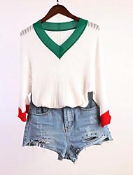 povoljno -Žene Aktivan Pullover Jednobojni