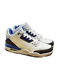 povoljno -Muškarci Cipele Umjetna koža Zima Jesen Udobne cipele Sneakers za Kauzalni Crn Plava Crno-bijeli