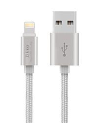 abordables -Eclairage Adaptateur de câble USB Charge rapide Haut débit Câble Pour iPhone 150 cm Nylon
