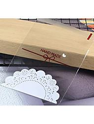 baratos -Forma quadrada Plástico Suportes para Lembrancinhas com Estampa Bolsas de Ofertas - 1pack