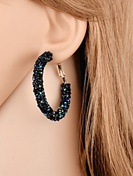 cheap -Women's Hoop Earrings - Elegant Fashion Circle For Gift Evening Party