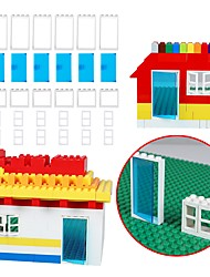 cheap -Building Blocks 30pcs Family School / Simple Unisex Gift