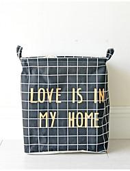 cheap -Fabrics Envelope / Rectangular Cute Home Organization, 1pc Storage Baskets