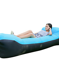 cheap -Inflatable Sofa Inflatable Lounger Air Sofa Chair with U-shape Neck Pillow Waterproof Portable Ultra Light (UL) for Camping / Hiking