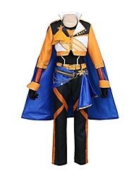 cheap -Inspired by Ensemble Stars Cosplay Anime Cosplay Costumes Cosplay Suits Other Long Sleeves Coat Pants Gloves Cloak More Accessories Waist