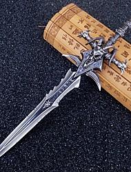 abordables -Epée Inspiré par WOW Soldat/Guerrier Manga / Jeux Vidéo Accessoires de Cosplay Epée Alliage