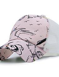 Недорогие -Универсальные Для офиса Шляпа от солнца Бейсболка Хлопок, Контрастных цветов