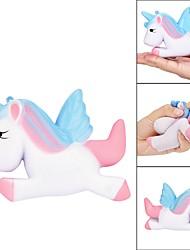 Недорогие -Резиновые игрушки Лошадь Товары для офиса Стресс и тревога помощи Декомпрессионные игрушки Животные Все
