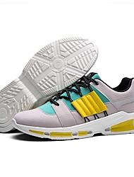 Недорогие -Муж. Универсальные обувь Замша Весна Лето Светодиодные подошвы Удобная обувь Спортивная обувь Беговая обувь для Повседневные на открытом