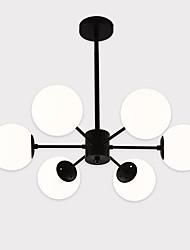 abordables -LightMyself™ 6 lumières Spoutnik Lampe suspendue Lumière d'ambiance Finitions Peintes Métal Verre Mat 110-120V / 220-240V Ampoule non incluse / E26 / E27