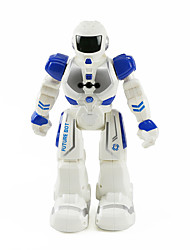 cheap -RC Robot Kids' Electronics AM Plastics Metalic Plastic Forward/Backward Singing Dancing Walking PC Software Programmable Voice Prompt